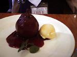 つばめグリル洋梨の赤ワイン蒸し20051212.jpg